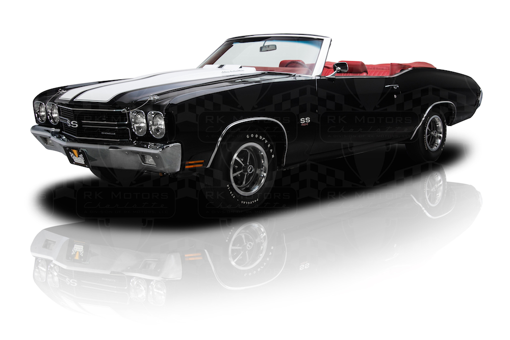 1970 Ford Torino King Cobra and 1970 Chevrolet Chevelle SS at the ...