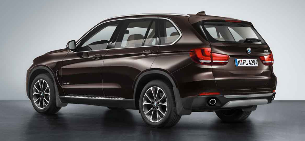 2014 BMW X5 rear side