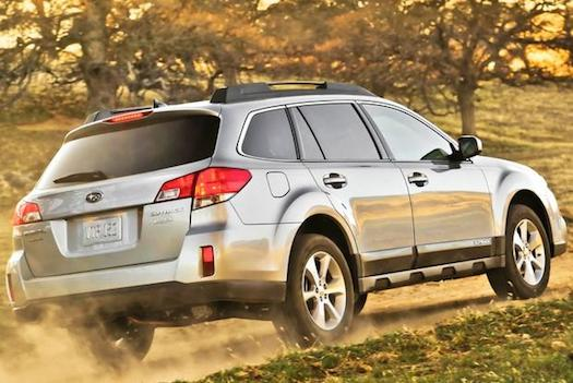 2014 Subaru Outback Limited rear view-Bestride