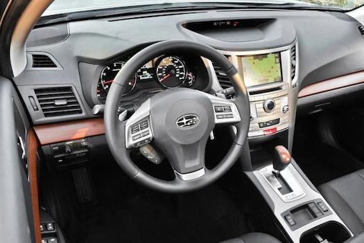 2014 Subaru Outback interior-Bestride