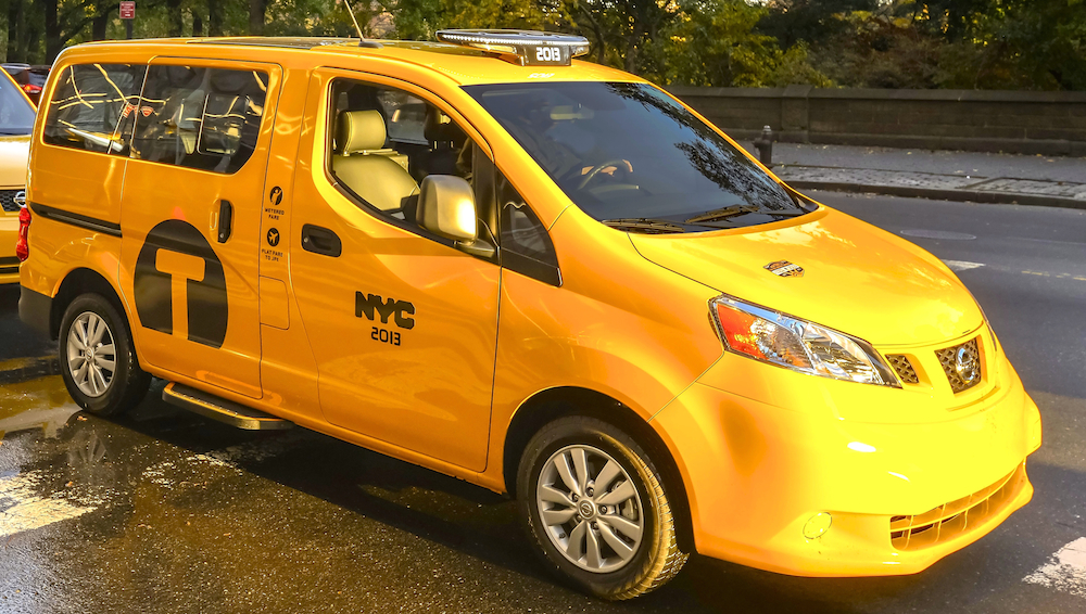 Nissans Taxi Of Tomorrow Bestride