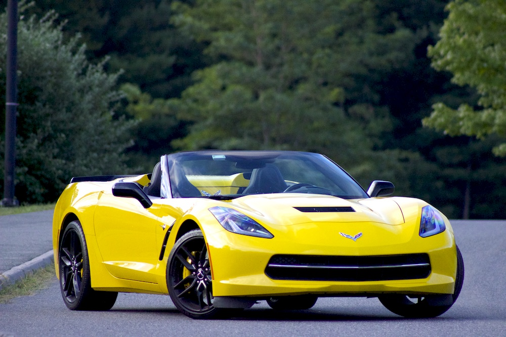 Chevrolet Corvette Stingray Convertible Breathtakingly - Really awesome cars