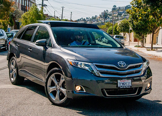 Toyota Venza The Modern Station Wagon Bestride