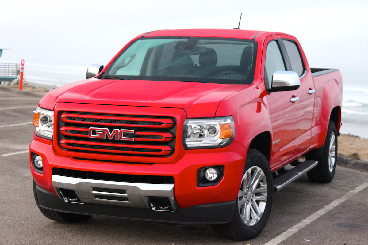 GMC Canyon Front Beach 2 Bestride