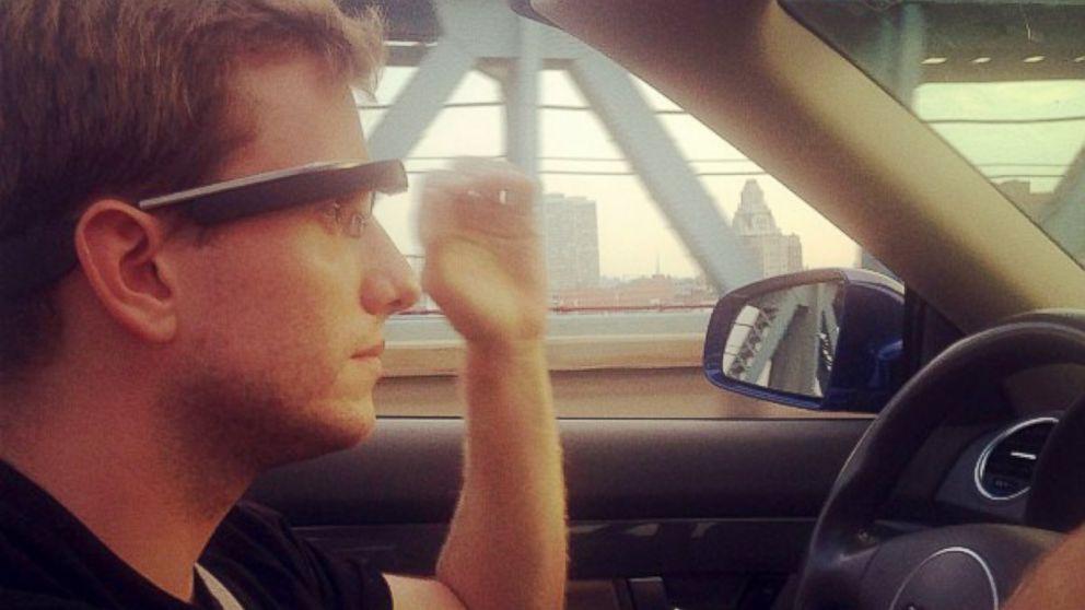 Google Glass Driving