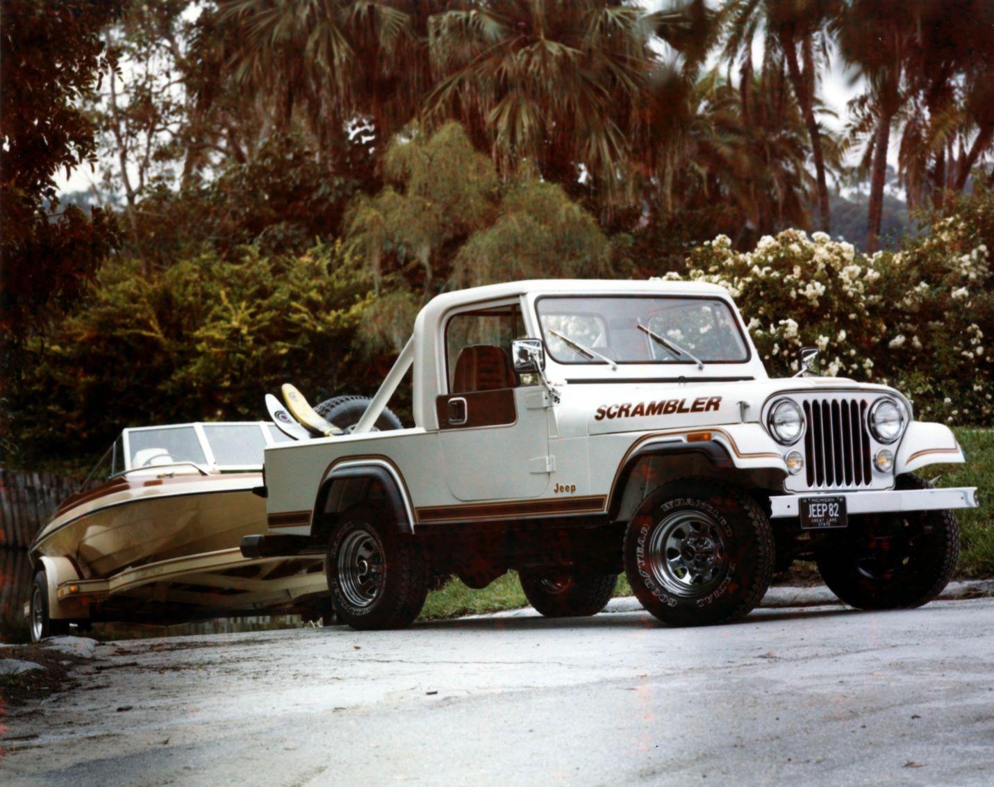 Malaise - 1981 Jeep Scrambler