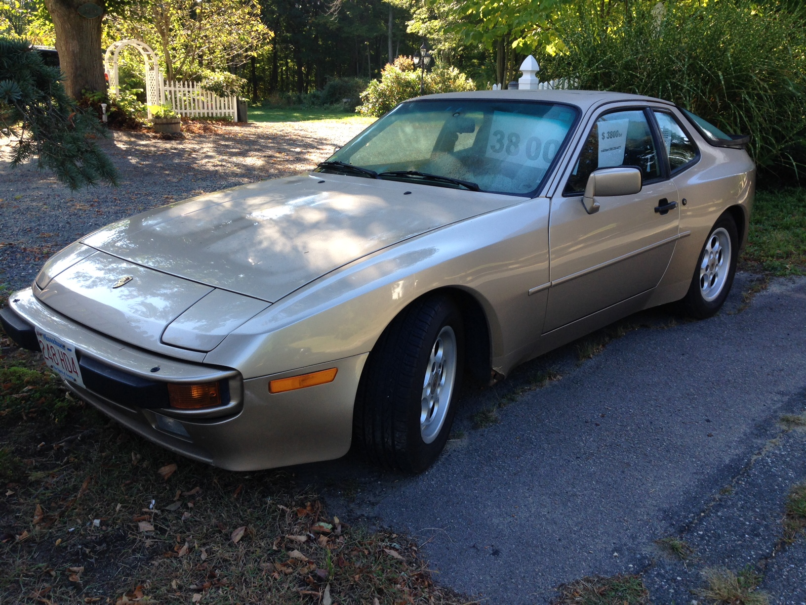 for sale beside the road: 1985 porsche 944 | bestride