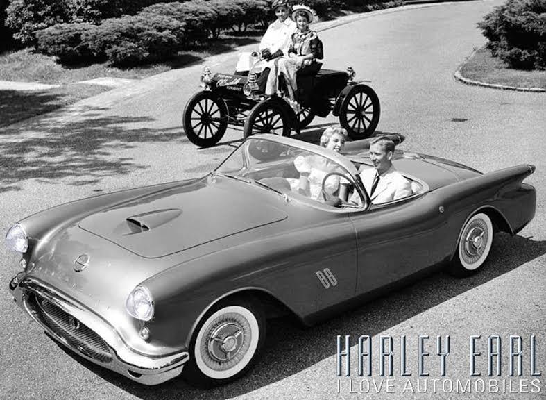 1954 Oldsmobile F-88 Concept Harley Earl