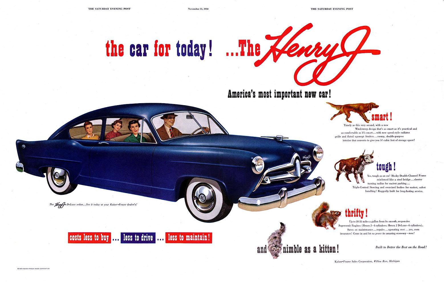Cars We Remember Nash Rambler And Henry J Bestride