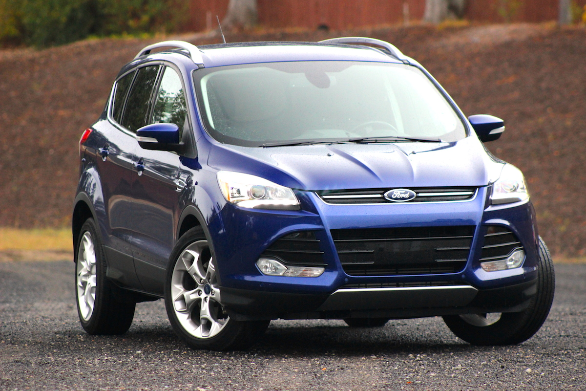 2014 Ford Escape Titanium 4wd Still The Class Leader Bestride