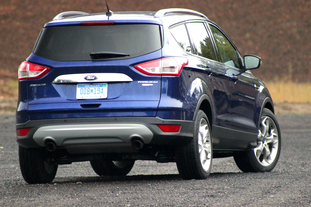 2014 Ford Escape Titanium 4wd Rear