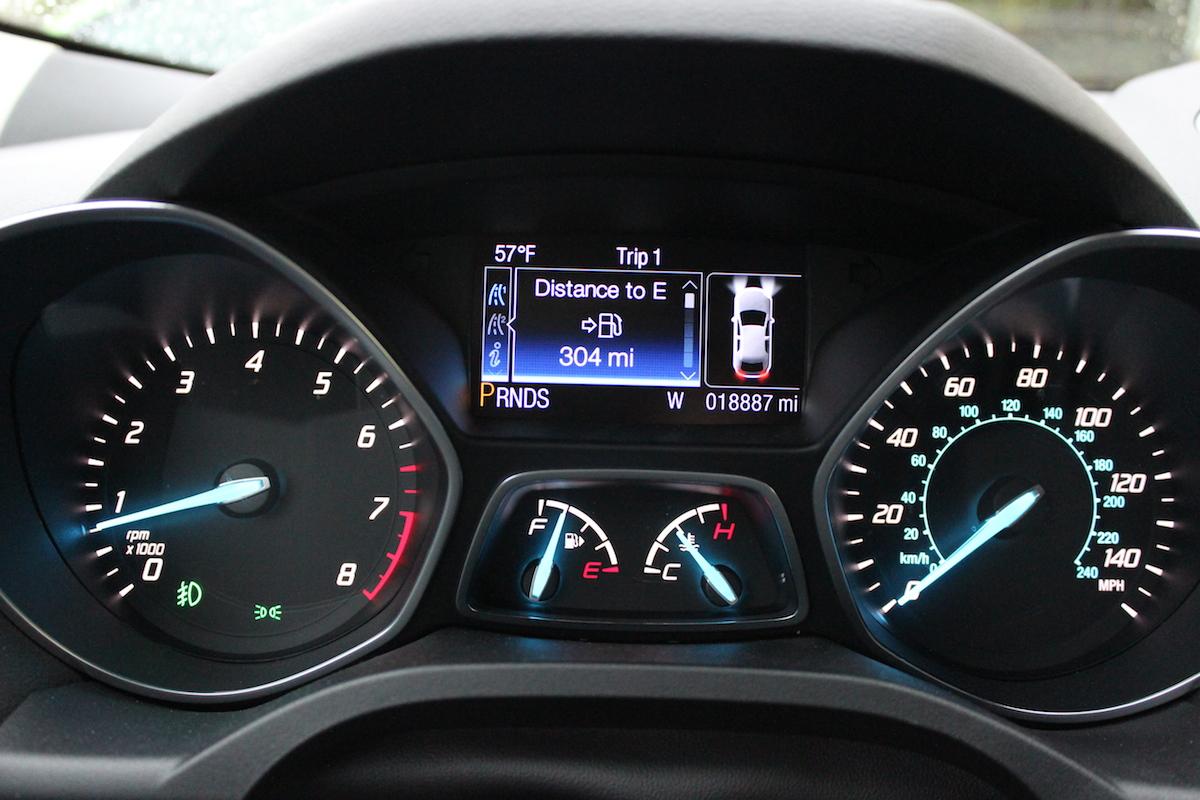 2014 Ford Escape Titanium Dash