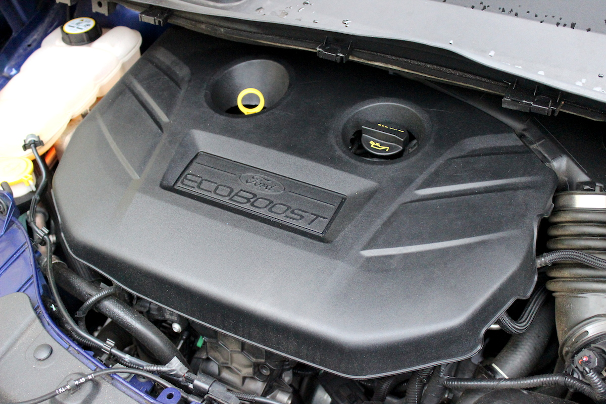 2014 Ford Escape Titanium Engine