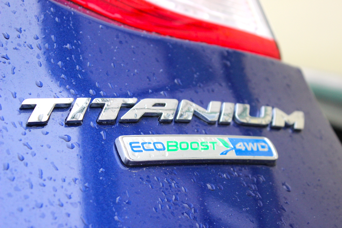 2014 Ford Escape Titanium Rear Emblem