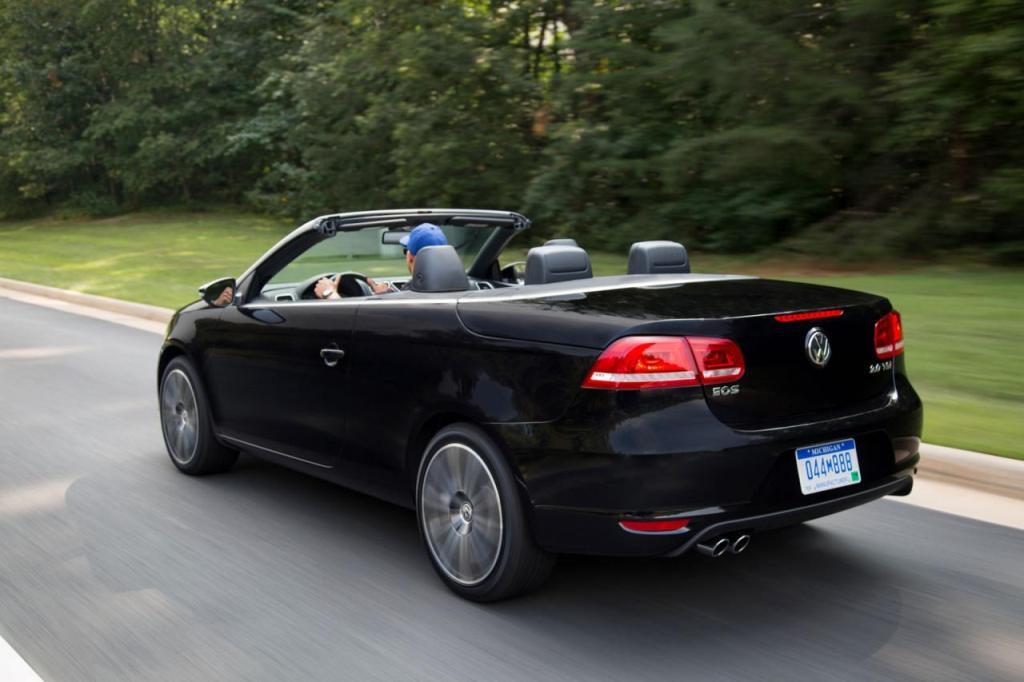 2015 Volkswagen Eos top down