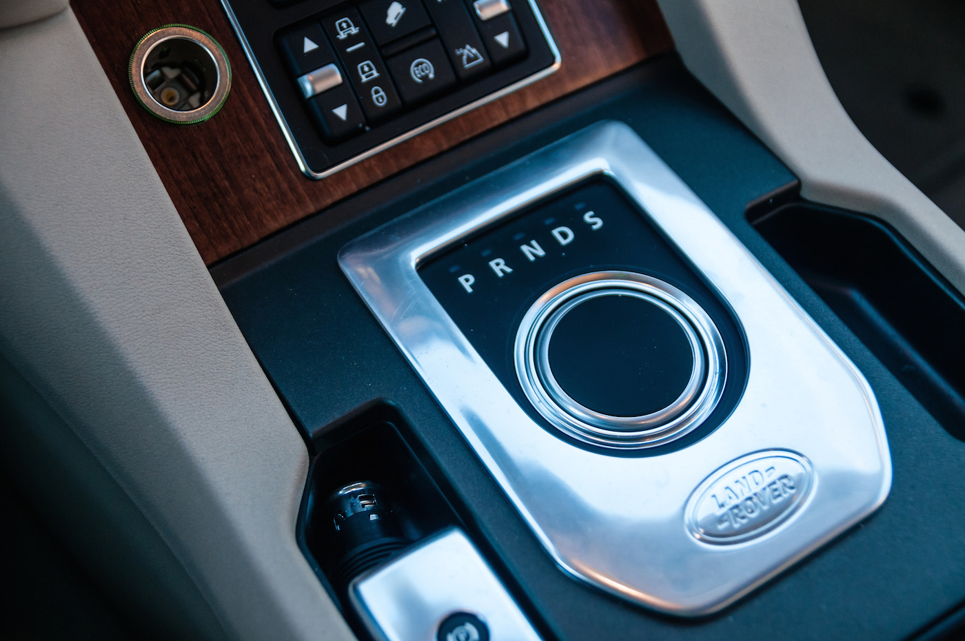 Land Rover LR4 Console