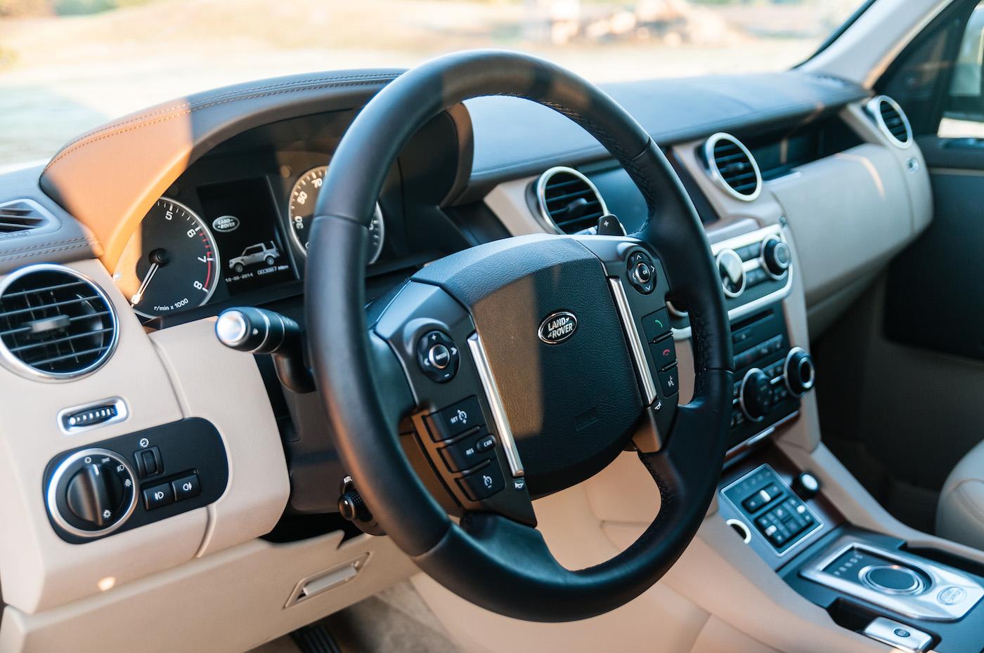 Land Rover LR4 interior