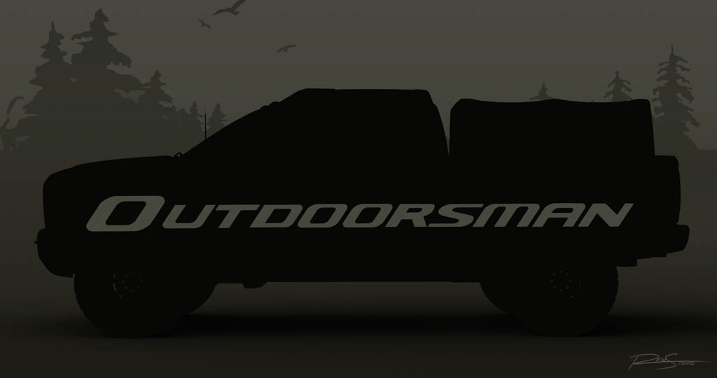 A sneak peak at the Ram 2500 Outdoorsman that will be among a nu