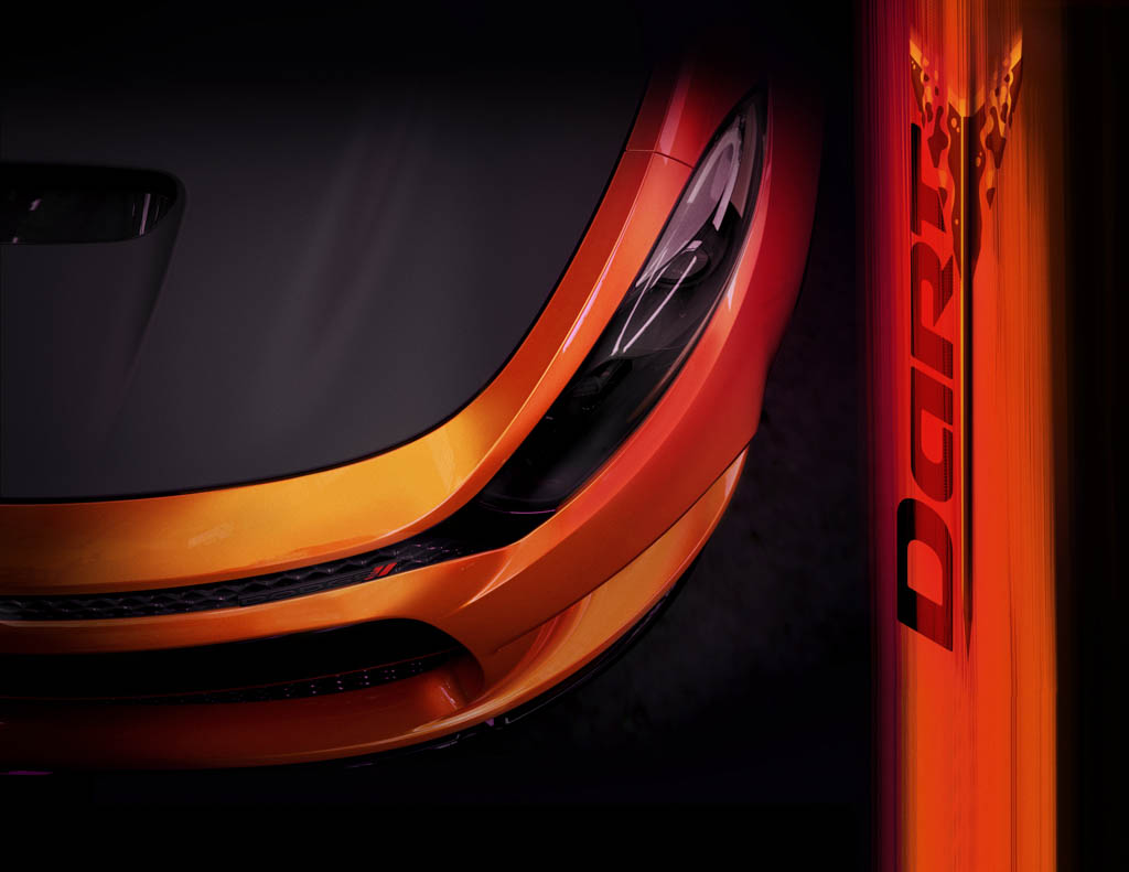 A sneak peek at the Dodge Poison Dart R/T that will be among a n