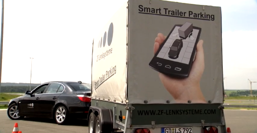 Smart  Automated Trailer Parking