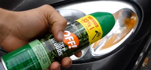 Clean Your Foggy Headlights With Bug Spray We Put This Myth To The