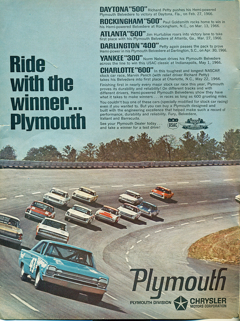 pETTYY 1966 pLYMOUTH