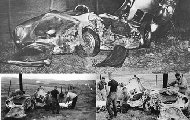 James Dean Porsche >> Cursed Cars James Dean S Haunted Little Bastard Porsche