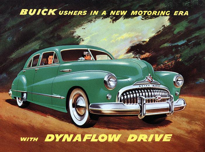 1948 Buick advertisement
