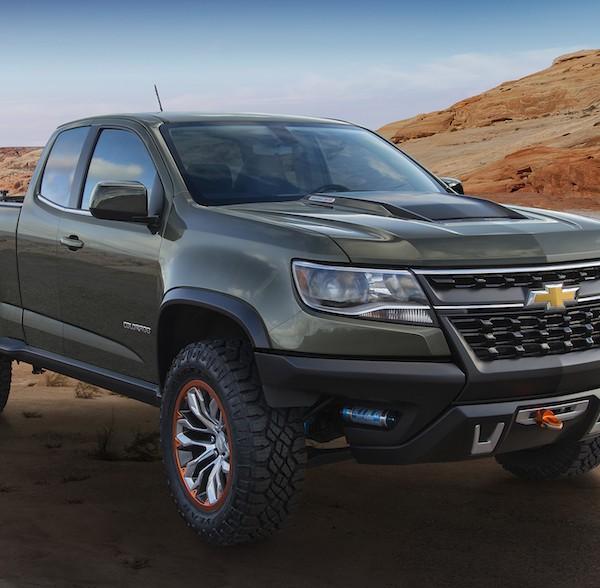 Chevrolet Colorado ZR2 Concept -- Diesel? Manual? Ohh
