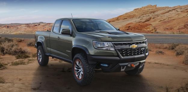 Chevrolet Colorado ZR2 Concept — Diesel? Manual? Ohh…
