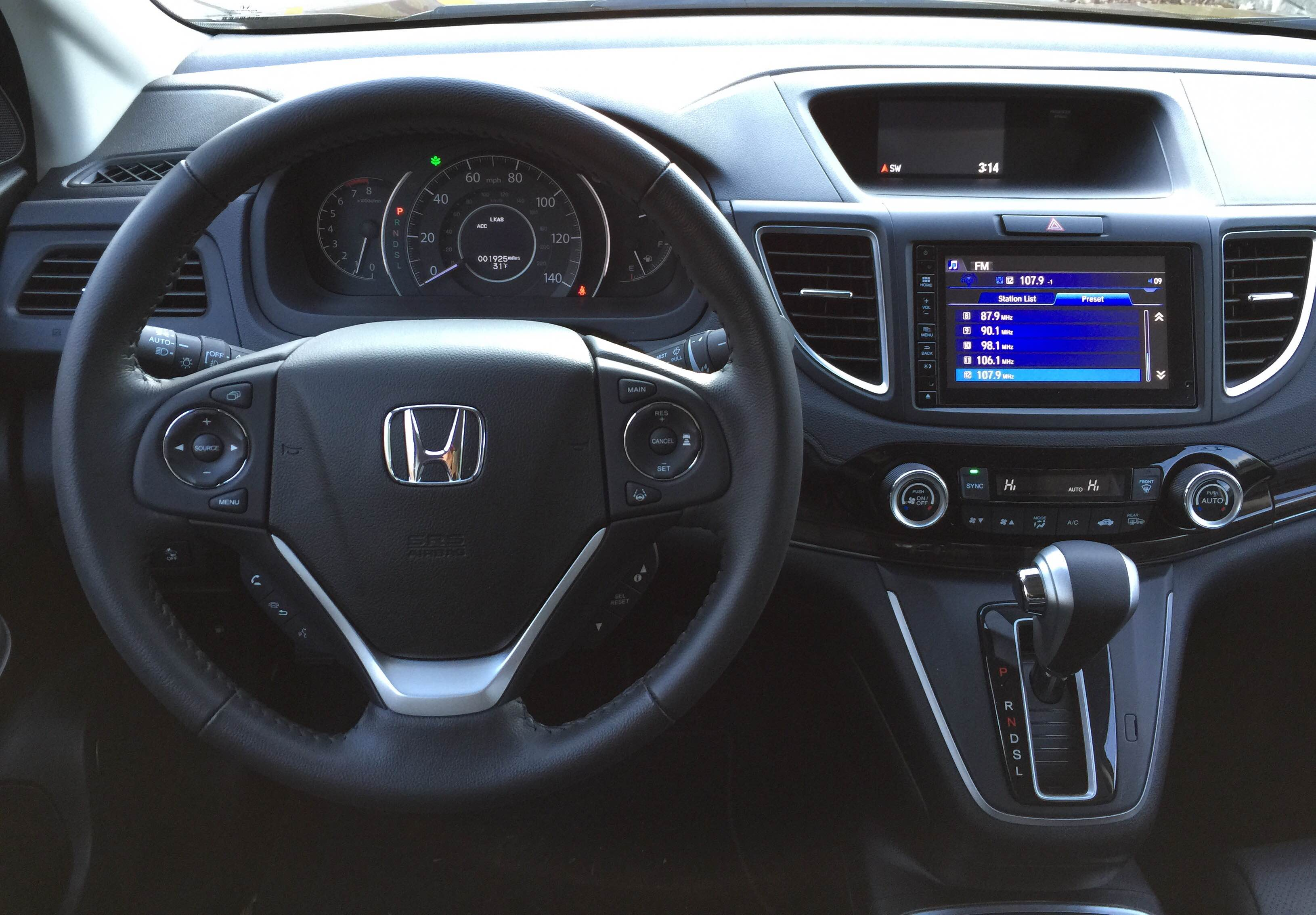 2015 Honda CR-V Dash