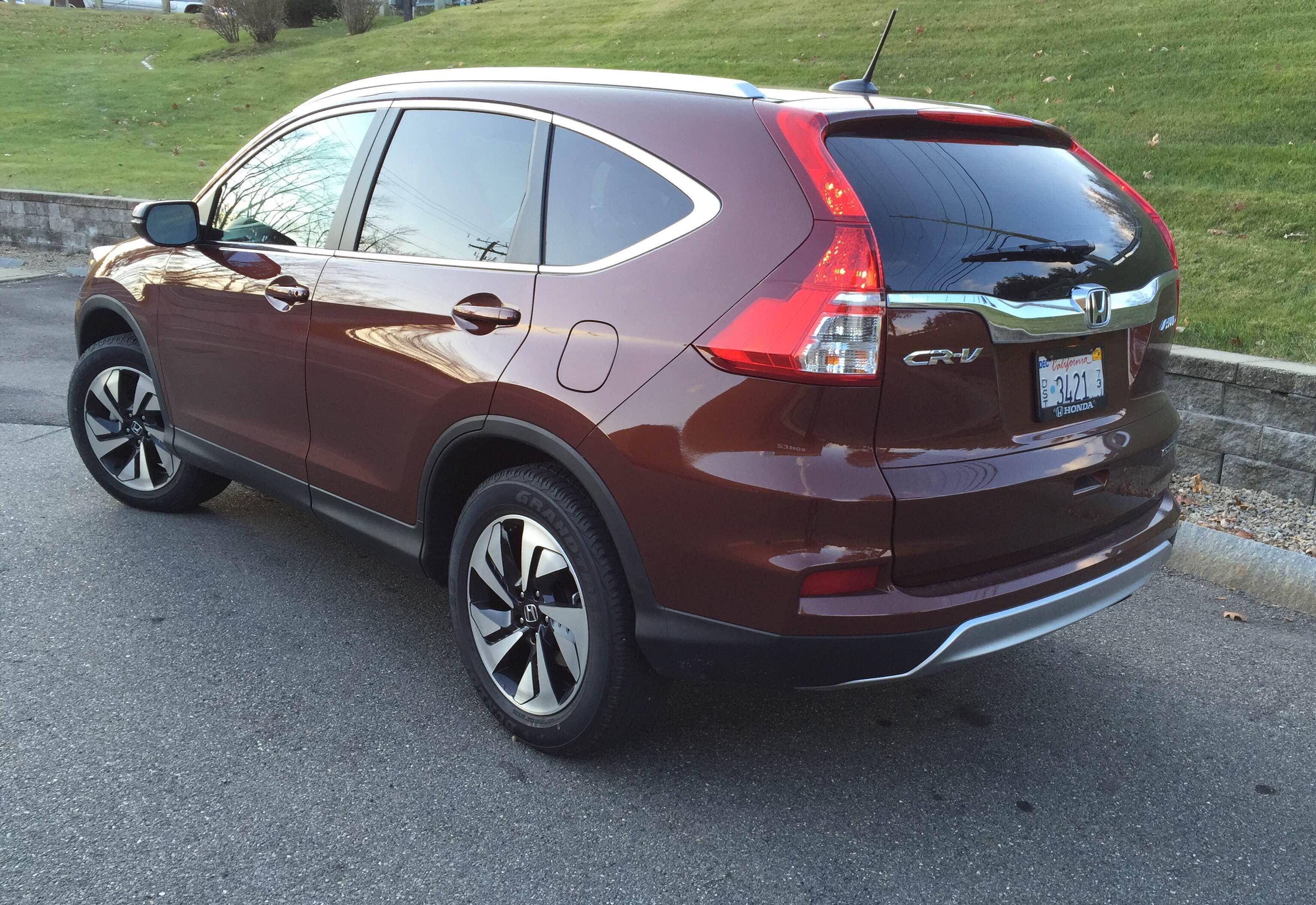 2015 Honda CR-V Rear Quarter