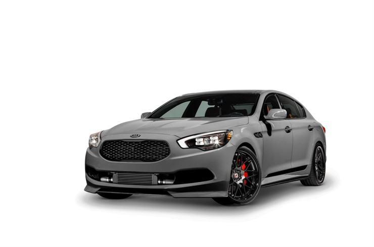 2014 SEMA -- High-Performance K900