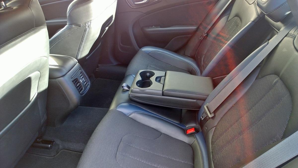 Chrysler 200 Rear Seat