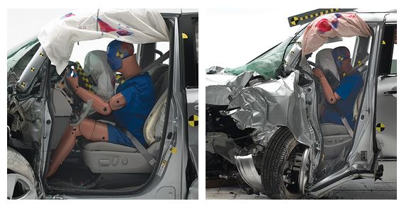 Crash Test Minivans