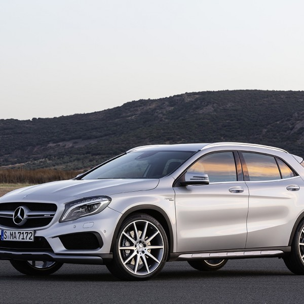 2015 Mercedes-Benz GLA45 AMG: A Baby Hot-Rod In Short