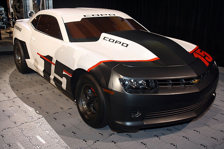 Sema Gallery Chevrolet Unwraps The 2015 Copo Camaro