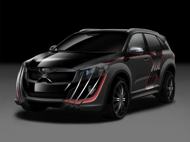 Forget the Batmobile, Check Out Wolverine's Kia Sorento