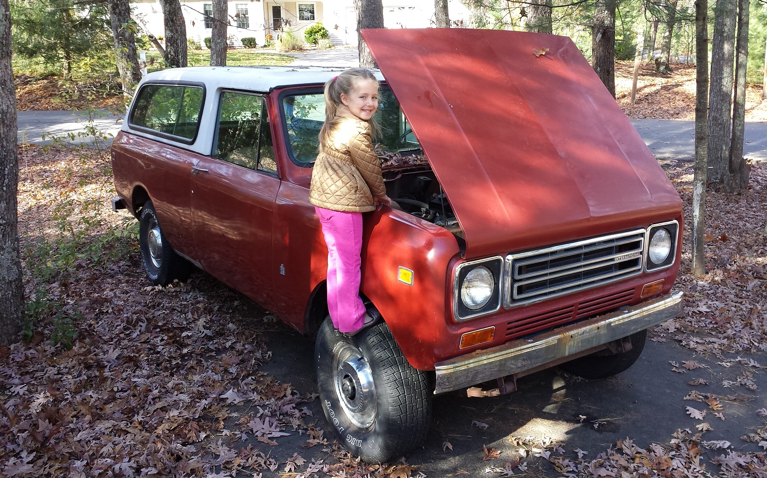 1978 International Harvester Scout to be reborn as ultimate beach wagon