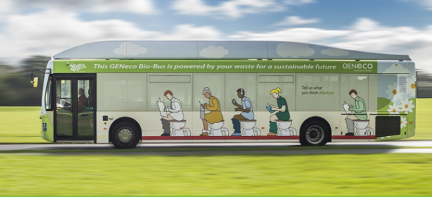 VIDEO: Are You Ready to Ride a Human Waste-Powered Bus?