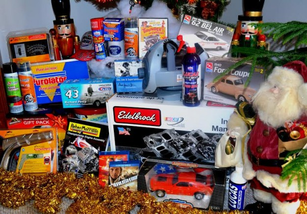 Visit with Santa Provides Gift Suggestions for Car and Motorsport Enthusiasts