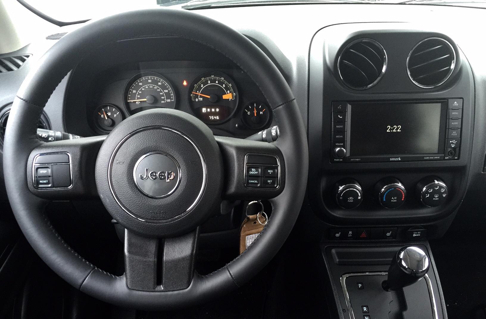2014 Jeep Patriot Dashboard