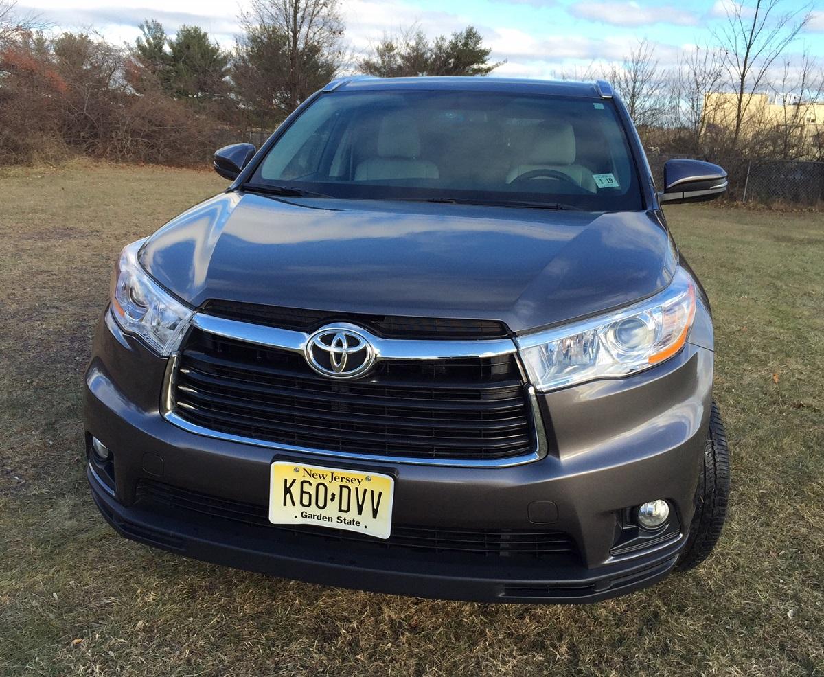 2014 Toyota Highlander Front