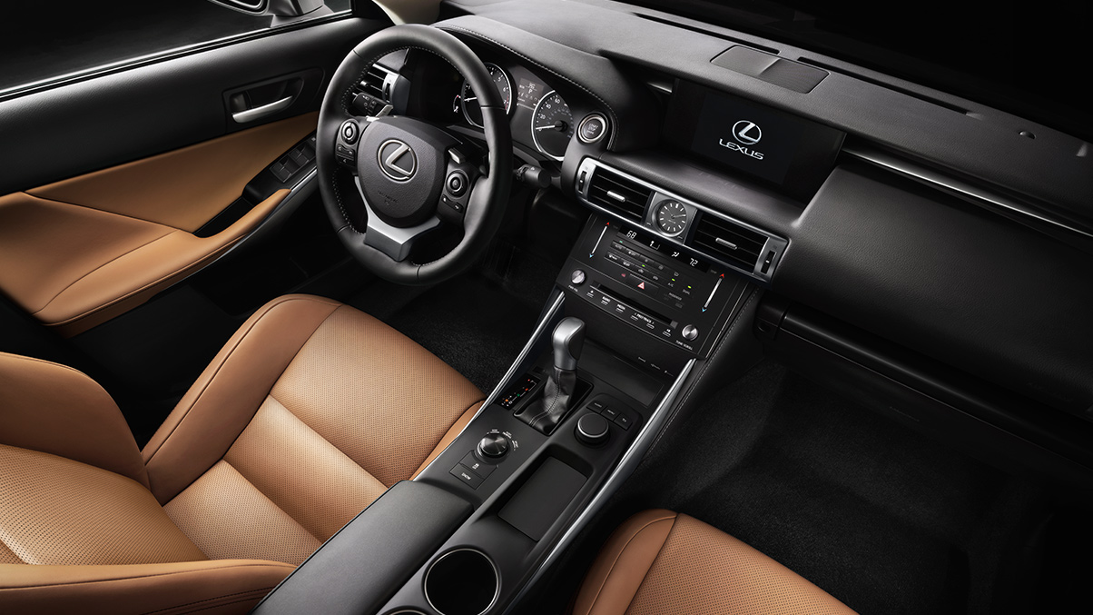2015 Lexus IS350 interior