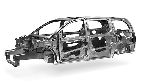 Body frame وUnibody 2682-DOD-1406-GrandCaravan-Safety-ContentStory-UnibodyConstruction.jpg