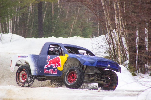 VIDEO: We Hoon Around in the Snow with Ricky Johnson in a 500HP Pro2 Trophy Truck