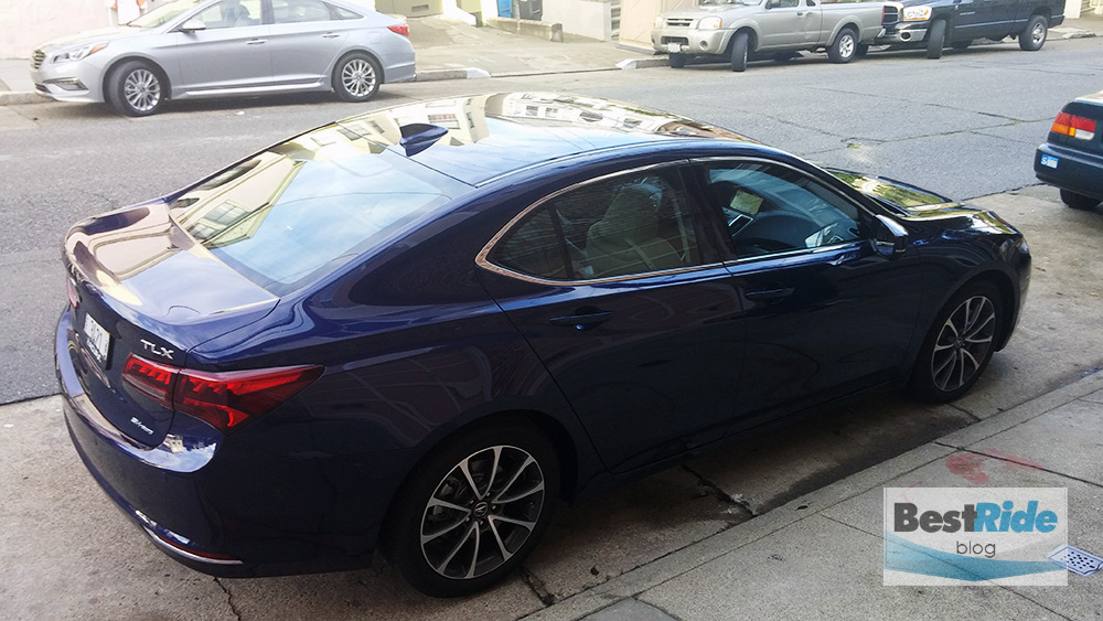review 2015 acura tlx sh awd uncommon competence bestride. Black Bedroom Furniture Sets. Home Design Ideas
