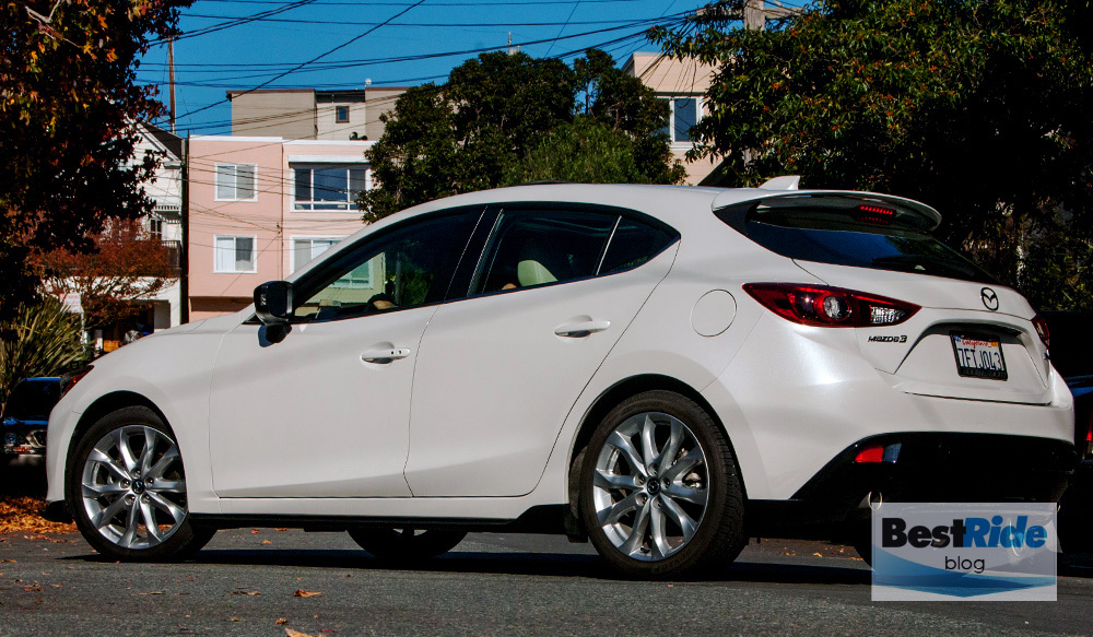 mazda 3 hatchback 2015 white images galleries with a bite. Black Bedroom Furniture Sets. Home Design Ideas
