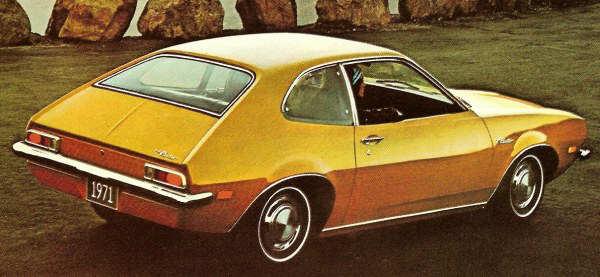 1971 Ford Pinto sedan