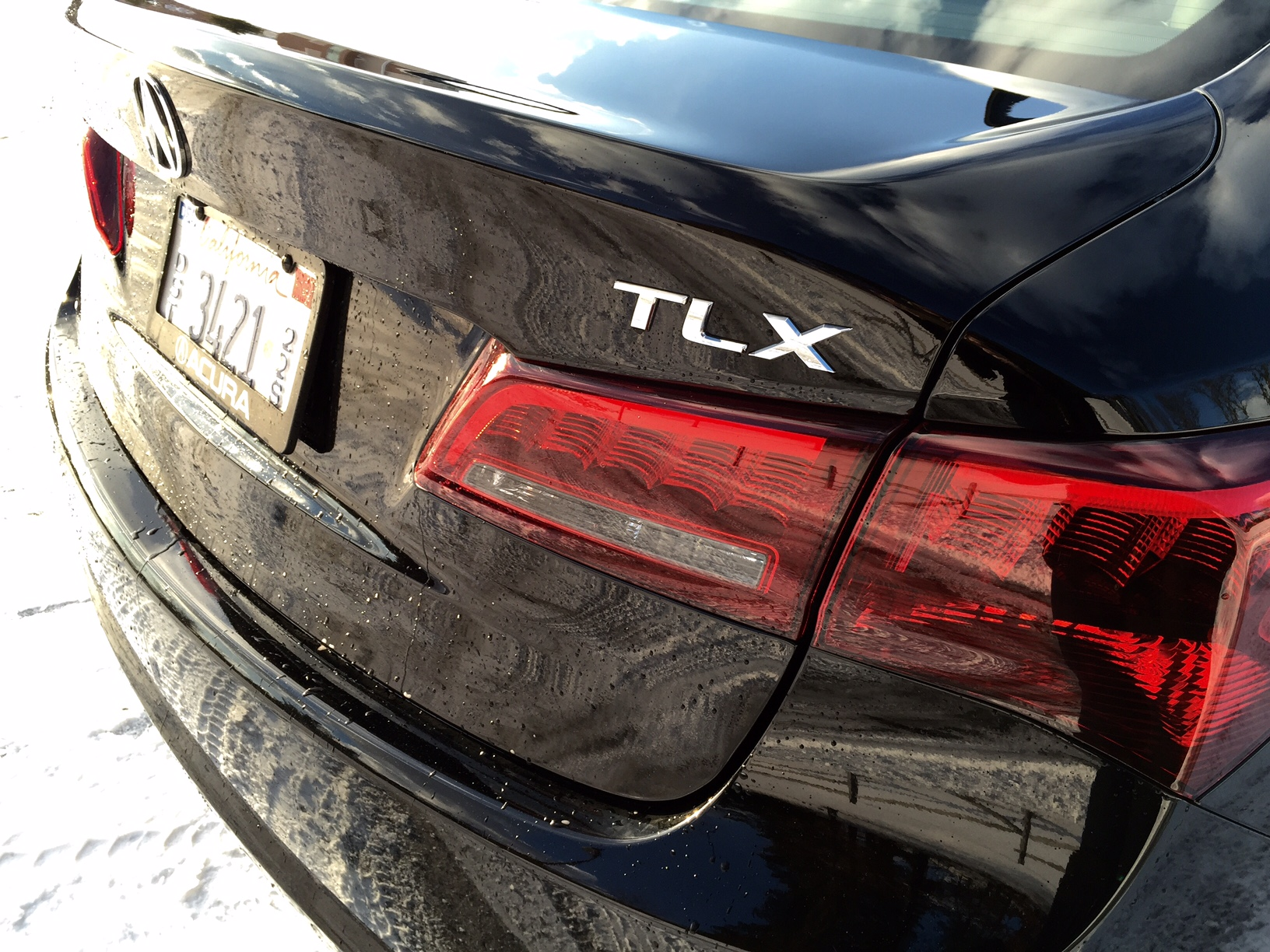 2015 Acura TLX Badge